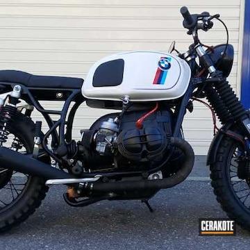 Bmw Motorcycle Cerakoted Using Cerakote Glacier Black