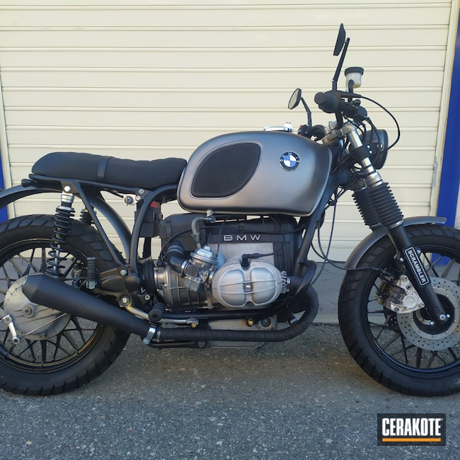 Cerakoted: Motorcycles,BMW,Automotive,CERAKOTE GLACIER BLACK C-7600,BMW Motorcycle
