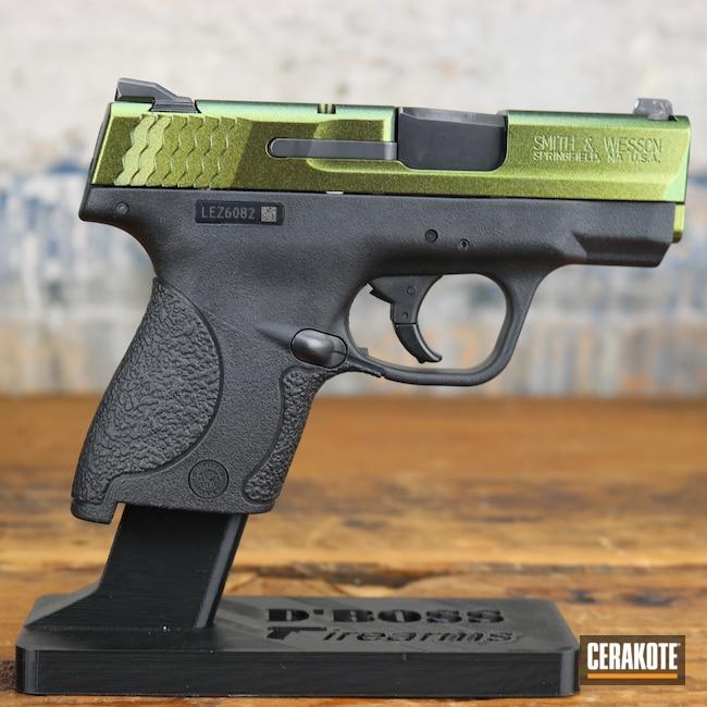 Cerakoted: S.H.O.T,M&P,Graphite Black H-146,Smith & Wesson,Pistol,Guns,Firearms,Handgun