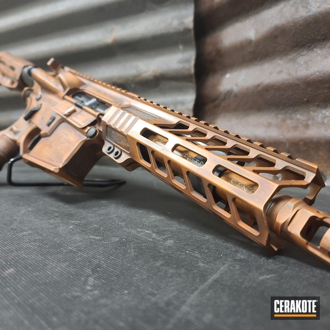 Cerakoted: S.H.O.T,COPPER H-347,AR Pistol,Graphite Black H-146,BARRETT® BRONZE H-259,Distressed,Patriot Brown H-226,We the people,.223 Wylde