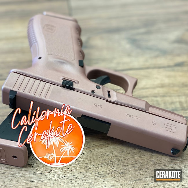 Cerakoted: S.H.O.T,Smith & Wesson,ROSE GOLD H-327,Christopher Miller,california cerakote