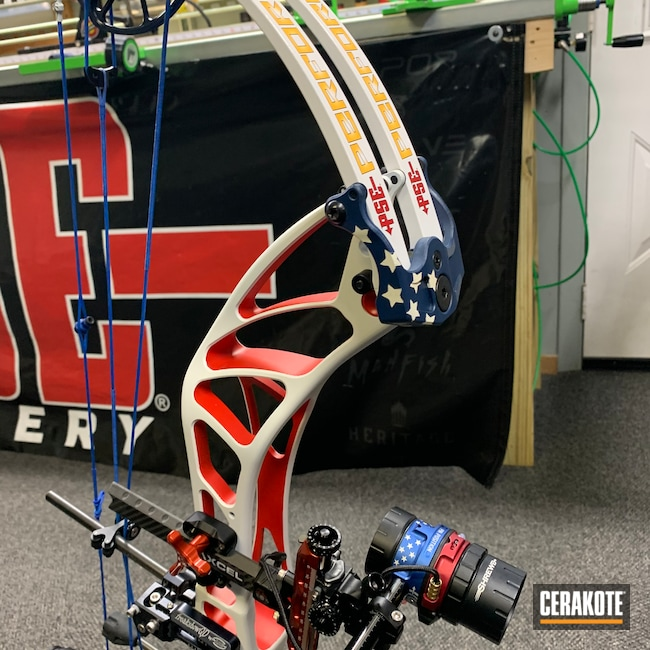 Cerakoted: S.H.O.T,Bright White H-140,PSE,Wicked Threads Custom Bow Strings,Compound Bow,Graphite Black H-146,USMC Red H-167,Perform X 3D,KEL-TEC® NAVY BLUE H-127,Archery