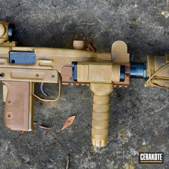 Cerakoted: Noveske Tiger Eye Brown H-187,S.H.O.T,Uzi,Vortex,Shimmer Aluminum H-158,Suppressed,Battleworn,Copper Brown H-149