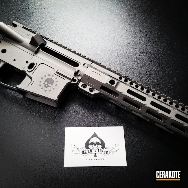 Cerakoted: S.H.O.T,AR15 Builders Kit,Tungsten H-237,.300 Blackout