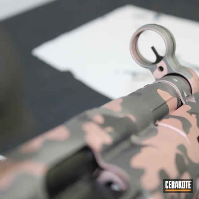 Cerakoted: S.H.O.T,BLACKOUT E-100,Rose Gold,Tungsten H-237,Pistol,Cobalt H-112,9KT,9mm,Multi Color,MultiCam,Camo,Submachine gun,Titanium H-170,ROSE GOLD H-327,PTR,Ladies