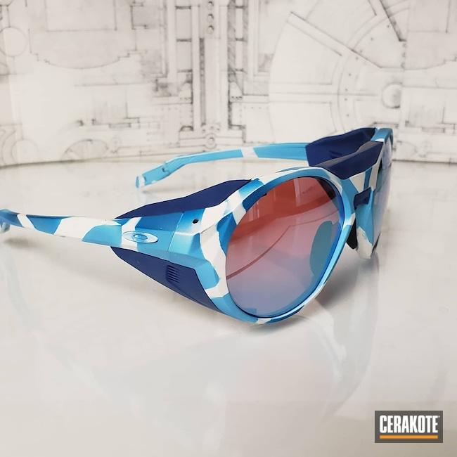 Cerakoted: Bright White H-140,S.H.O.T,Sunglasses,Oakley,NRA Blue H-171,soulfulfrog,More Than Guns,BLUE RASPBERRY H-329