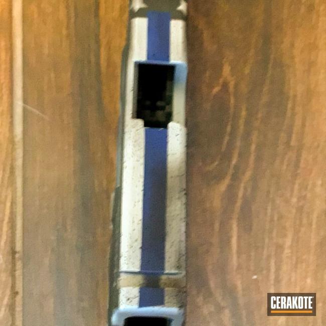 Cerakoted: S.H.O.T,Thin Blue Line,NRA Blue H-171,Blueline Flag,Snow White H-136,Gen II Graphite Black HIR-146,Thin Blue Line Flag,Glock 17L,.9