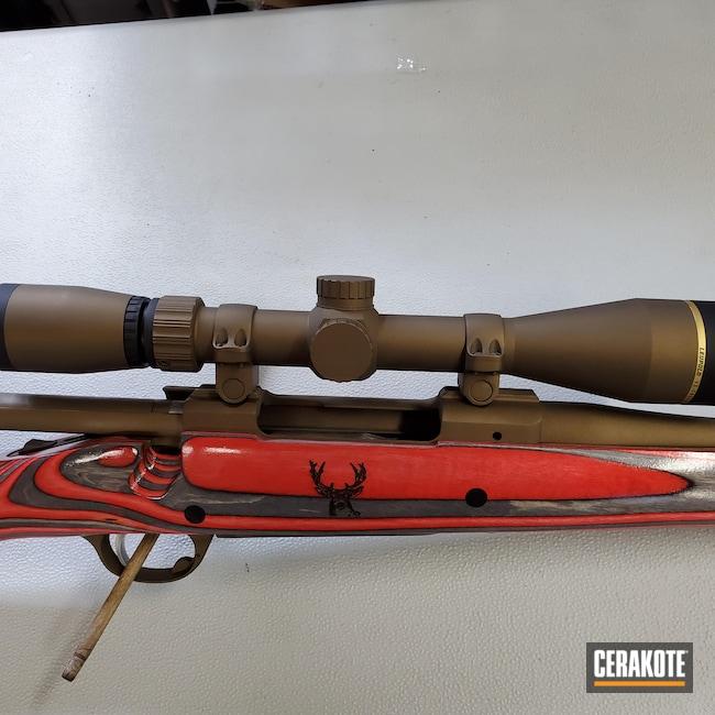Cerakoted: S.H.O.T,Ruger,Scope,Bolt Action,Leupold Scope,Burnt Bronze H-148,Ruger M77