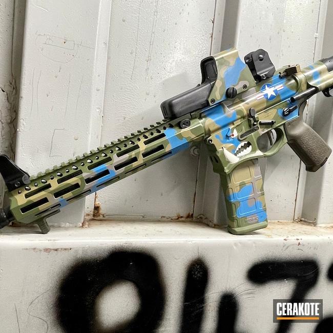 Cerakoted: S.H.O.T,MULTICAM® LIGHT GREEN H-340,Sharps Brothers,Sharps Bros Warthog Lower,MULTICAM® PALE GREEN H-339,Spike's Tactical Warthog,EOTech,Warthog,MultiCam,Theme,.223 Wylde,MULTICAM® DARK GREEN H-341,Sky Blue H-169,AR-15