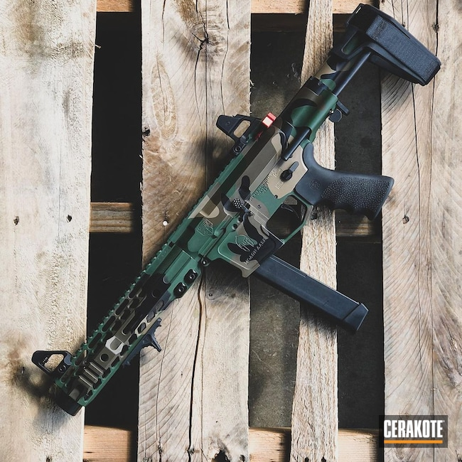 Cerakoted: S.H.O.T,9mm,M81,Highland Green H-200,AR Pistol,MAGPUL® FLAT DARK EARTH H-267,Woodland Camo,Graphite Black H-146,Patriot Brown H-226,Glock,AR Build