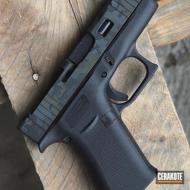Cerakoted: S.H.O.T,9mm,Glock 43X,Sniper Green H-229,Graphite Black H-146,Glock,SIG™ DARK GREY H-210,MultiCam Black