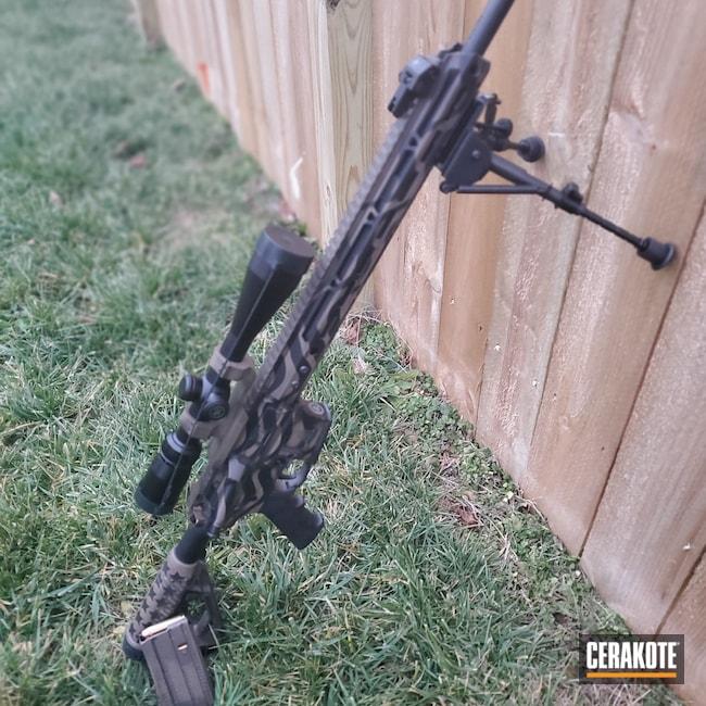Cerakoted: S.H.O.T,450 Bushmaster,FDE E-200,AR-15