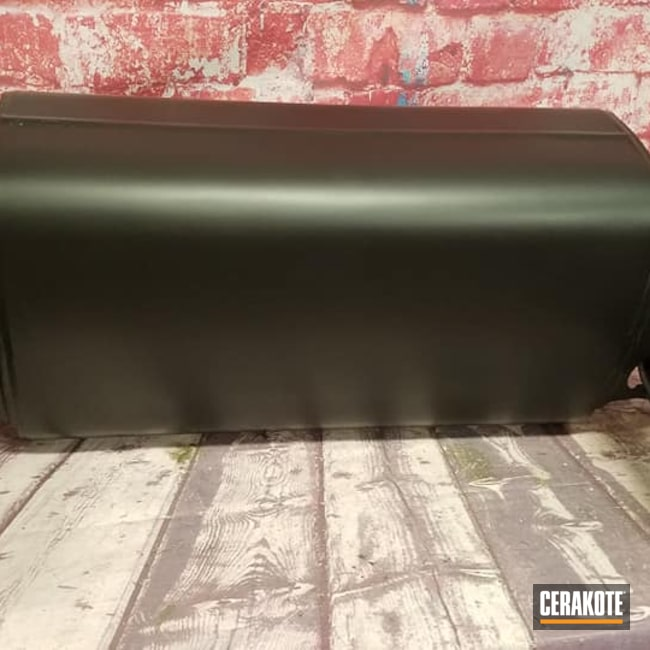 Cerakoted: Exhaust Coating,Automotive,Automotive Exhaust,CERAKOTE GLACIER BLACK C-7600,High Temperature