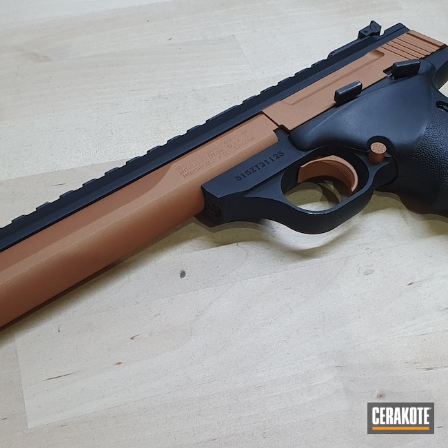 Cerakoted: S.H.O.T,COPPER H-347,Browning Buck Mark,Browning,buckmark,.22