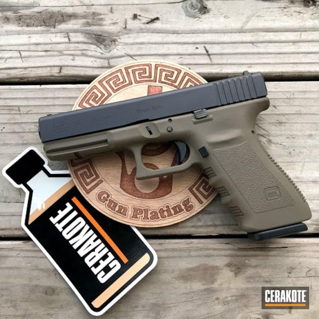 Cerakoted: S.H.O.T,Glock 19,9mm,10mm,Glock 20,GLOCK® FDE H-261