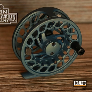 Orvis Fly Fishing Reel Cerakoted Using Northern Lights