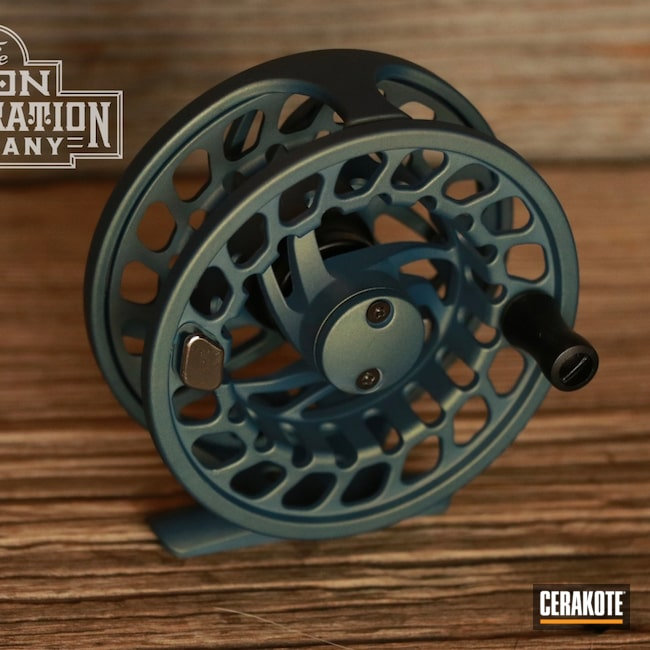 Cerakoted: Reel,Fishing,NORTHERN LIGHTS H-315,Fly Fishing,Outdoors,Orvis