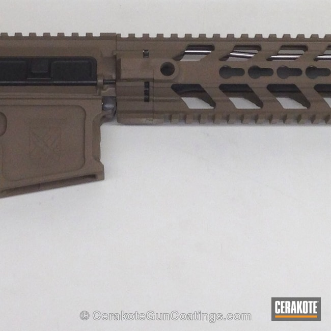 Mobile-friendly version of the 3rd project picture. Tactical Rifle, Desert Sand H-199Q