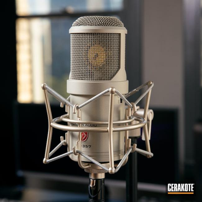 Cerakoted: Shimmer Aluminum H-158,Electronics,Music,Audio Equipment,Microphone