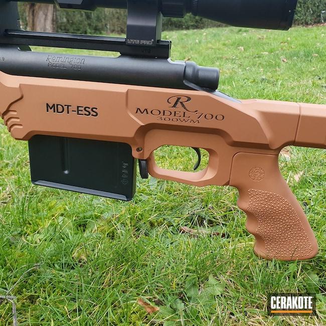 Cerakoted: S.H.O.T,COPPER H-347,Graphite Black H-146,Remington 700