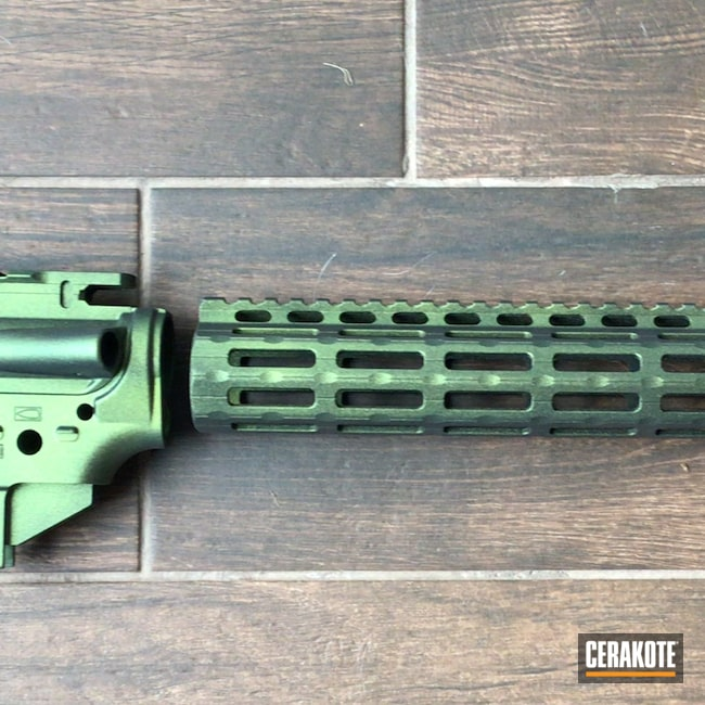 Cerakoted: S.H.O.T,Graphite Black H-146,AR,AR Project,MATTE ARMOR CLEAR H-301,.223,Gun Candy Caiman,AR Build,Gun Candy Ingot,AR15 Lower,AR-15