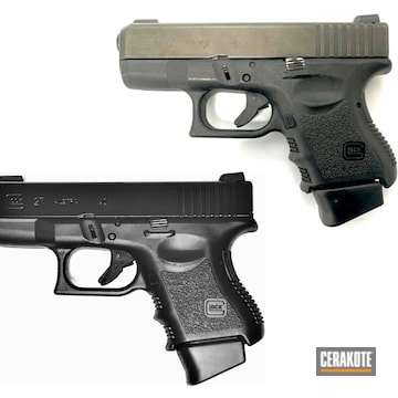 Restored Glock 27 Using Blackout