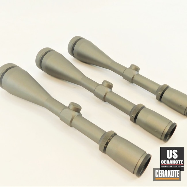 Cerakoted: S.H.O.T,Fullfield,Scope,Burris Scope,Scopes,Tungsten H-237,Burris,Gun Parts