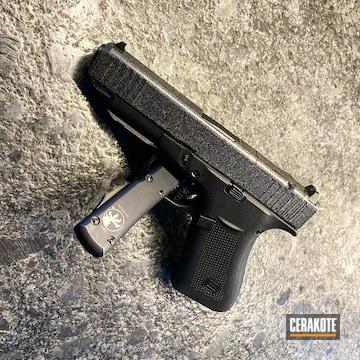 Glock 48 Cerakoted Using Graphite Black