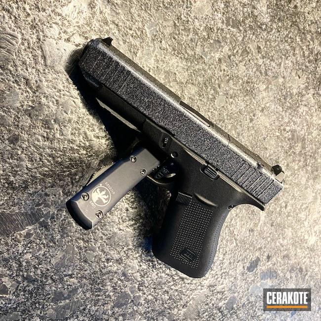 Cerakoted: Glock 48,S.H.O.T,9mm,Glitter,Glitter Glock,Graphite Black H-146,Glock,g48