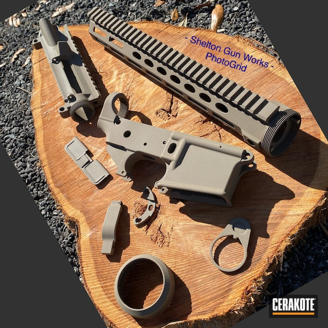Cerakoted: S.H.O.T,MAGPUL® FLAT DARK EARTH H-267,AR15 Builders Kit