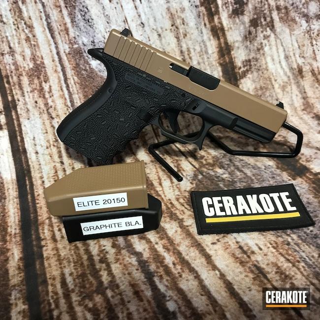 Cerakoted: S.H.O.T,Glock 19,20150 E-190,Graphite Black H-146,Pistol