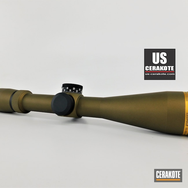 Cerakoted: S.H.O.T,Scope,Leupold Scope,Burnt Bronze H-148,Gun Parts,VX-5HD,Leupold