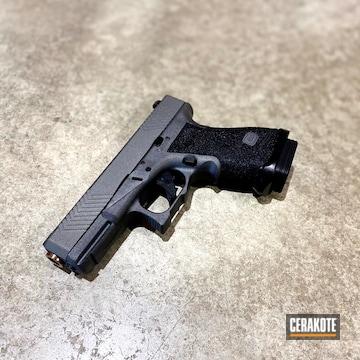Glock 23 Cerakoted Using Tungsten
