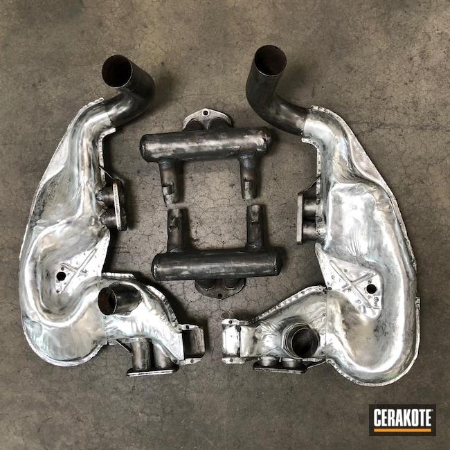 Cerakoted: CERAKOTE GLACIER TITANIUM C-7900,912E,Automotive,Automotive Exhaust,Porsche