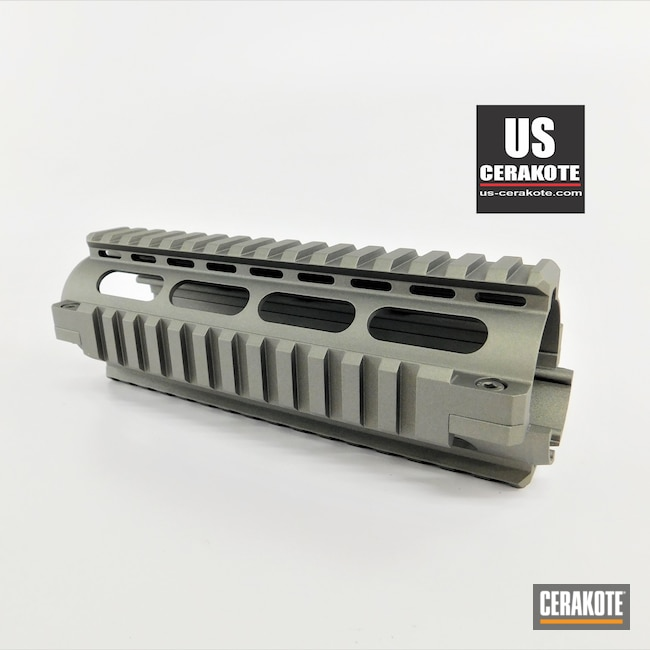 Cerakoted: S.H.O.T,Upper Receiver,Handguard,Gun Metal Grey H-219,Gun Parts,Upper,AR-15
