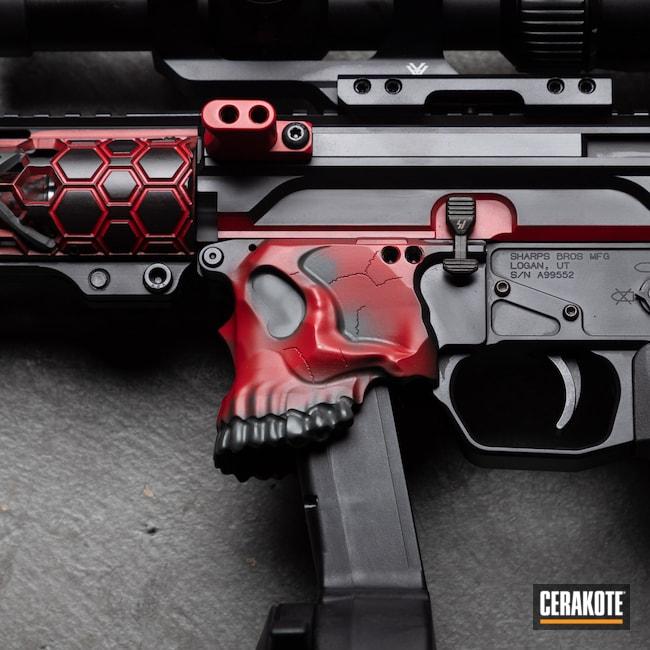 Cerakoted: S.H.O.T,9mm,Cerakote,RUBY RED H-306,black flag armory,Sharps Brothers,Armor Black H-190,Southern Oregon,SIG™ DARK GREY H-210,Medford,PCC