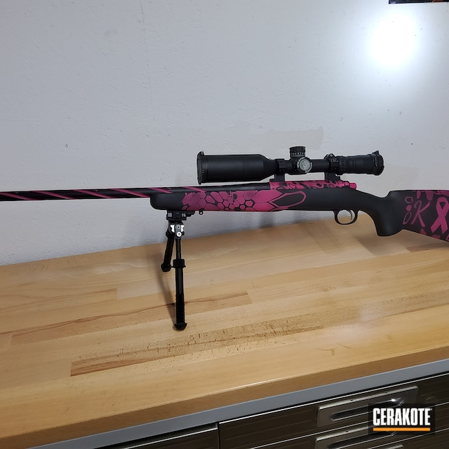 Cerakoted: S.H.O.T,Kryptek,Two Tone,Spiral Barrel,SIG™ PINK H-224,Armor Black H-190,Breast Cancer Awareness,Pink Kryptek