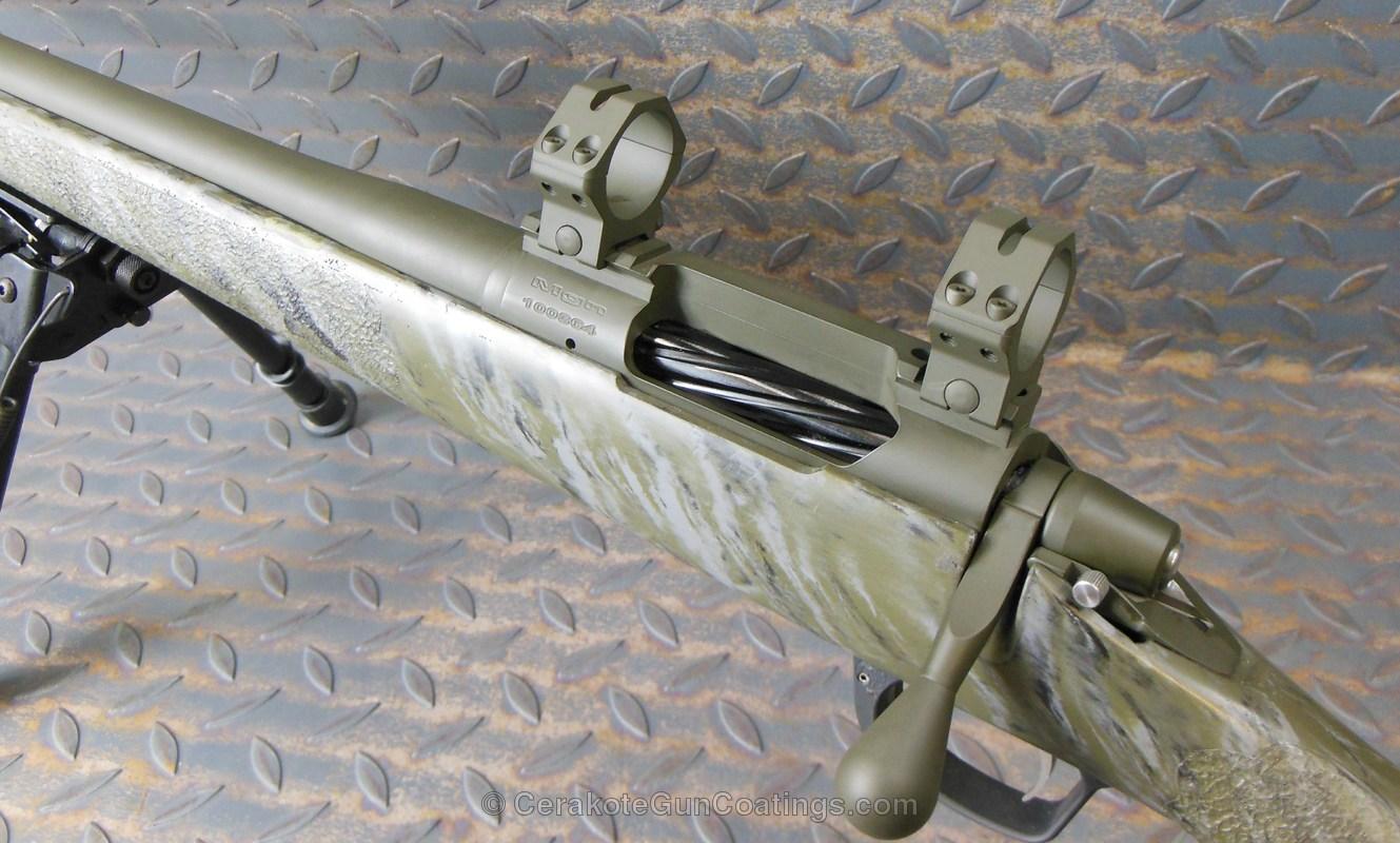 Cerakoted H-240 Mil Spec O.d. Green