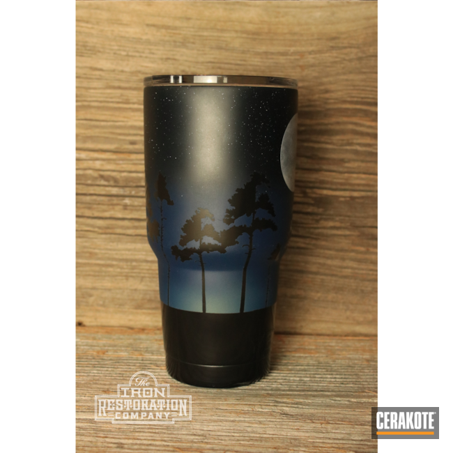 Cerakoted: Bright White H-140,Socom Blue H-245,YETI,YETI Cup,NORTHERN LIGHTS H-315,BATTLESHIP GREY H-213,Cup,Tumbler,MULTICAM® DARK GREY H-345