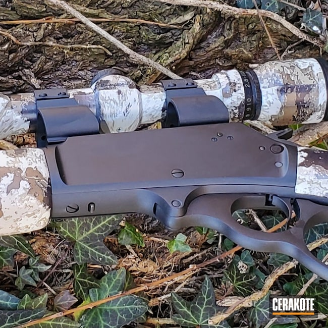 Cerakoted: S.H.O.T,Rifle,Marlin,Graphite Black H-146,MATTE CERAMIC CLEAR MC-161,30-30,336