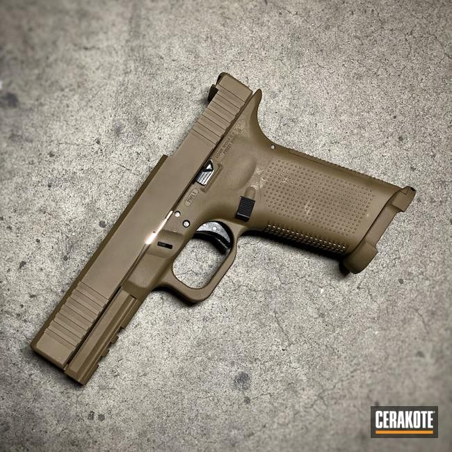 Cerakoted: S.H.O.T,10mm,Glock,Lone Wolf,GLOCK® FDE H-261