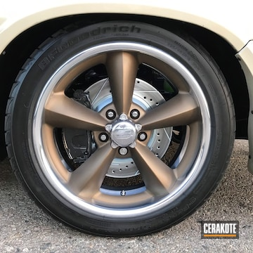 Billet Specialties Legends Wheels Cerakoted Using Burnt Bronze