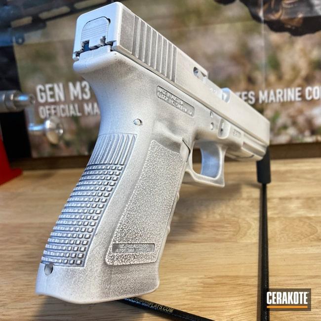 Cerakoted: S.H.O.T,Stormtrooper White H-297,Distressed Glock,Armor Black H-190,Glock 20