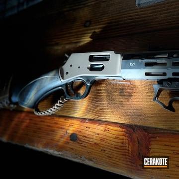Custom Henry Shotgun Cerakoted Using Earth