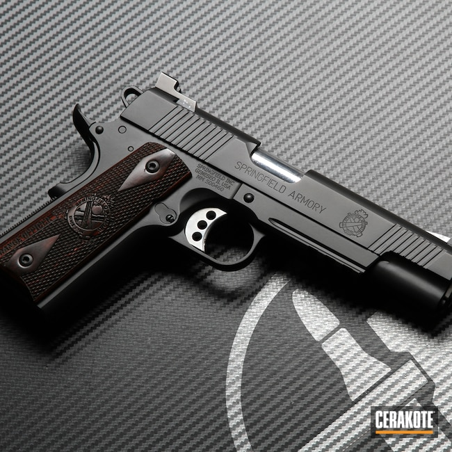 Cerakoted: S.H.O.T,Graphite Black H-146,1911