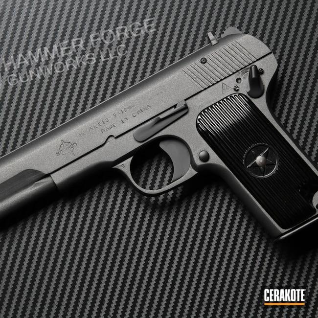 Cerakoted: S.H.O.T,Graphite Black H-146,Tungsten H-237,Tokarev,Handguns,Norinco