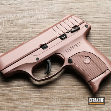 Ruger Lc9 Cerakoted Using Rose Gold