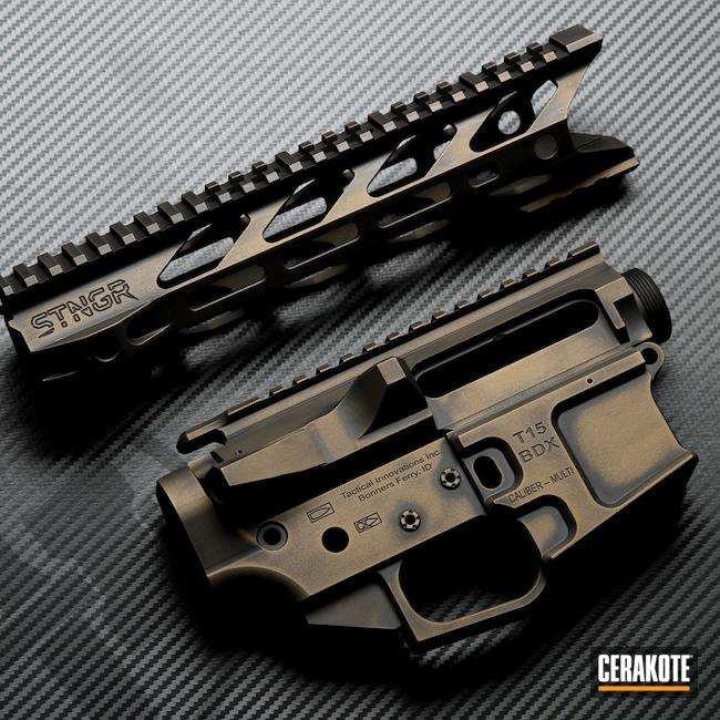 Cerakoted: S.H.O.T,Battleworn,Battleforged,Burnt Bronze H-148,AR-15