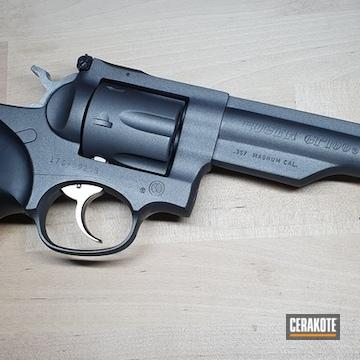 Ruger Gp100 Revolver Cerakoted Using Tungsten