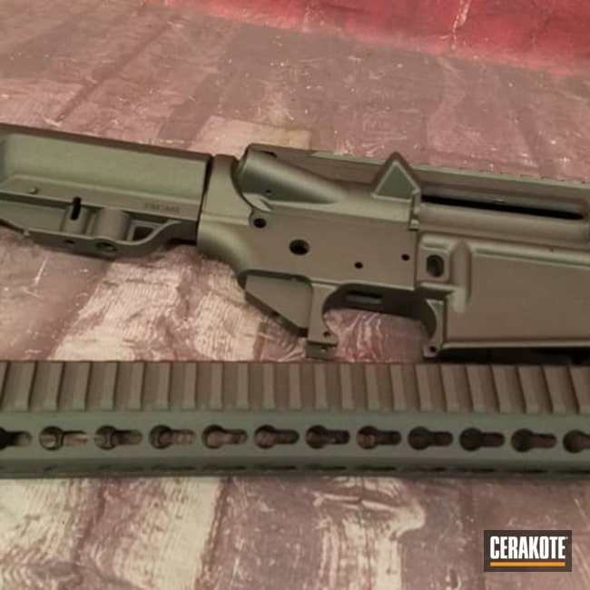 Cerakoted: S.H.O.T,Rifle,AR Project,Tungsten H-237,Tactical Rifle,AR Build,AR-15